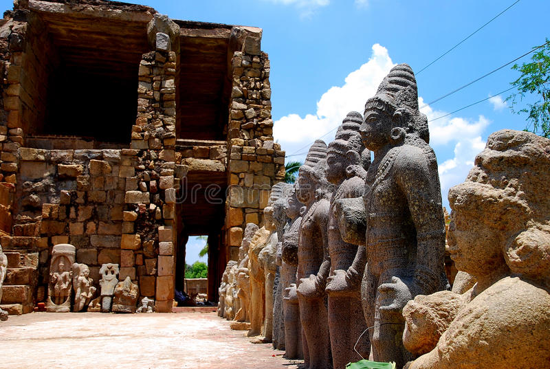 Estátuas indianas imagens de stock