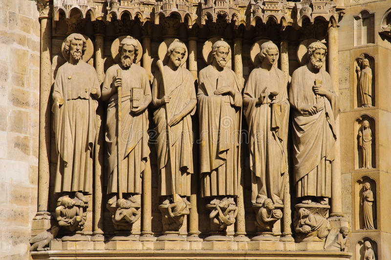 Estátuas religiosas fotografia de stock royalty free