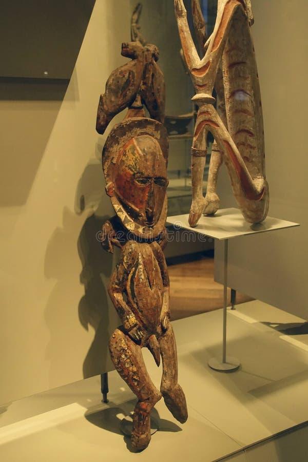 Estátuas rituais dos antepassados imagem de stock