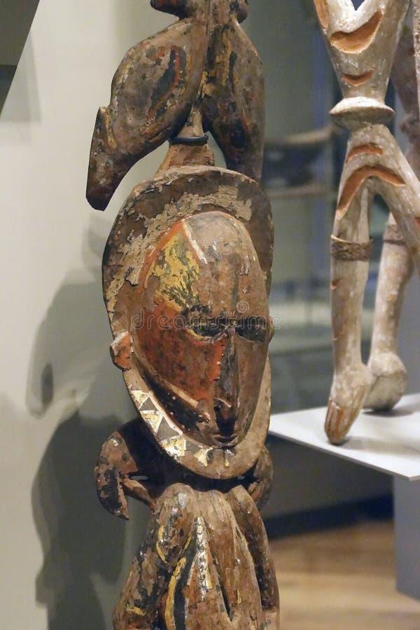Estátuas rituais dos antepassados imagens de stock