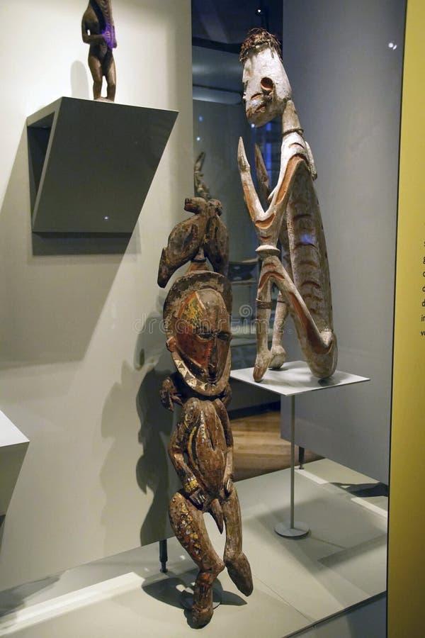 Estátuas rituais dos antepassados fotografia de stock royalty free