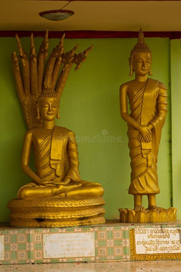 Estátuas tradicionais da Buda em Nabo Noi fotografia de stock royalty free