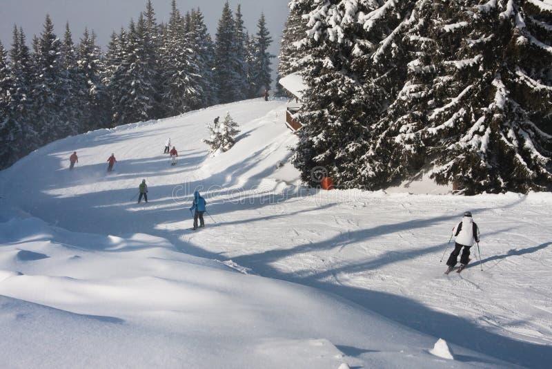 Estância de esqui Schladming. Áustria fotografia de stock royalty free