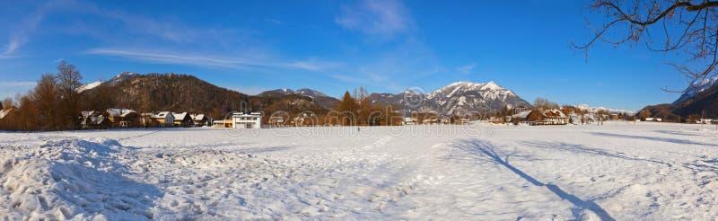 Estância de esqui Strobl Áustria das montanhas fotografia de stock royalty free