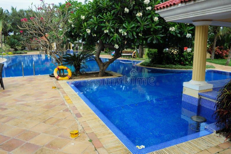 Estância de verão do hotel imagens de stock royalty free