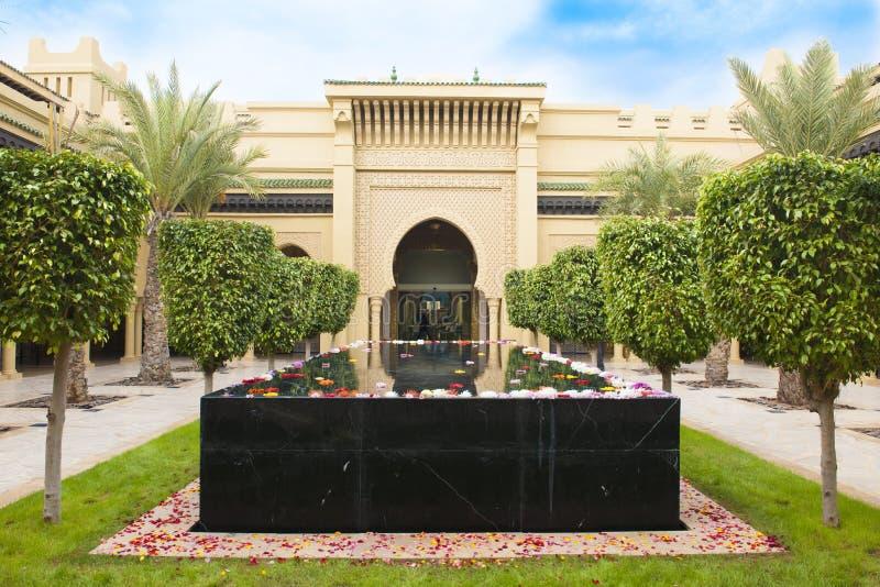 Estância de verão Marrocos de Mazagan do hotel foto de stock