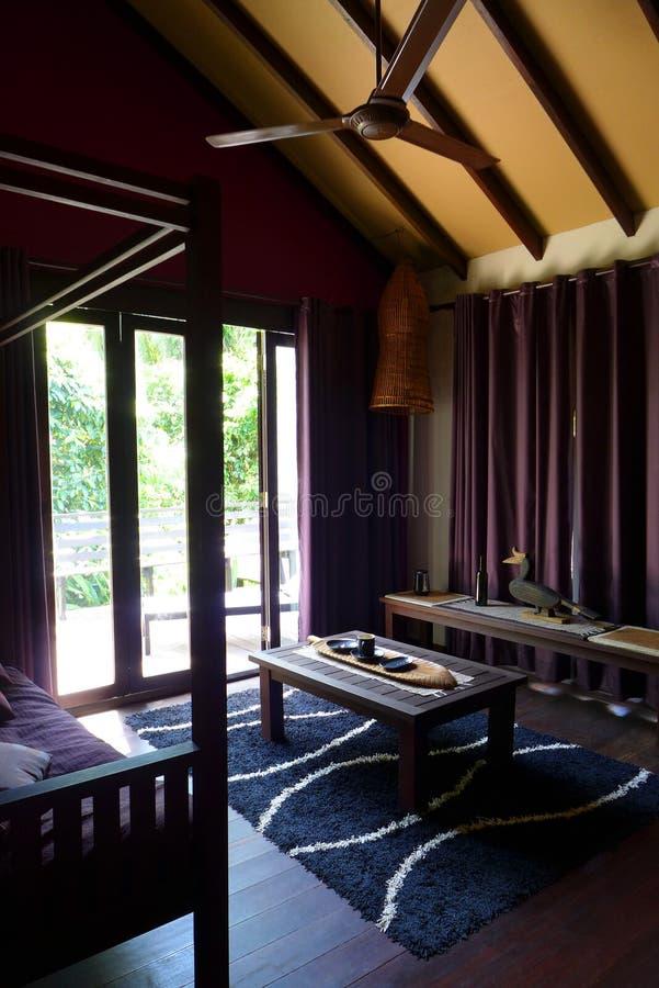 Estância interior, decoração local de Sarawak imagem de stock royalty free