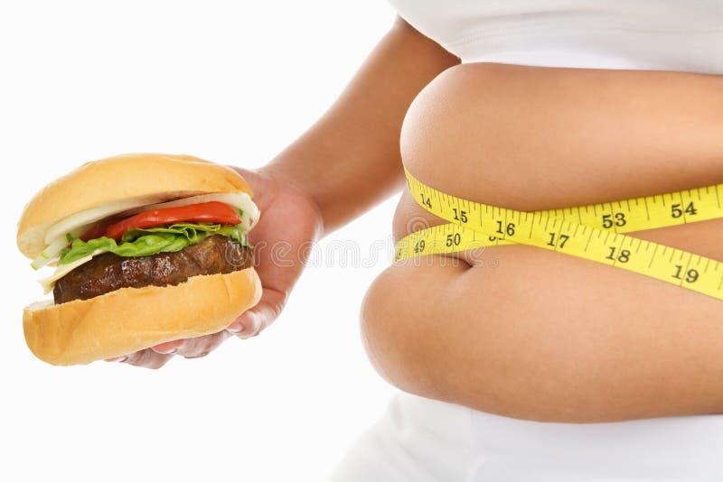 Estómago gordo imagen de archivo