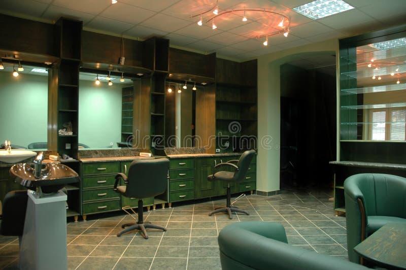 Estúdio do cabeleireiro fotografia de stock royalty free
