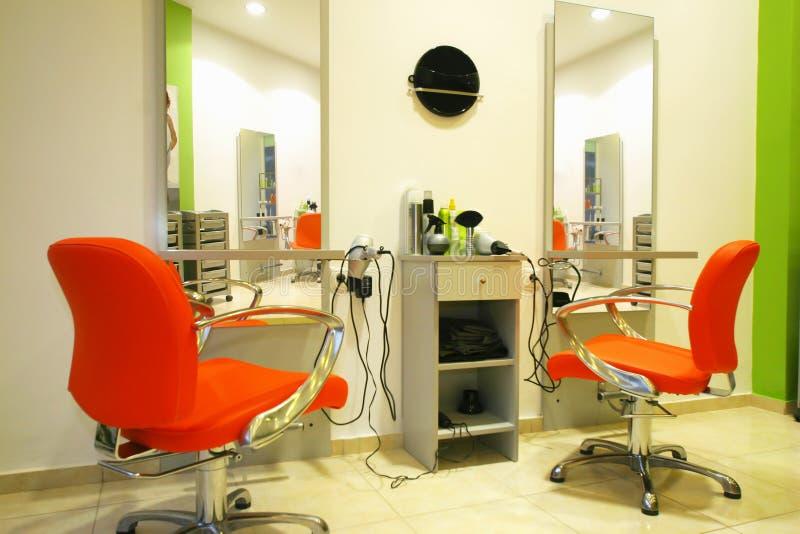 Estúdio do Hairdressing foto de stock