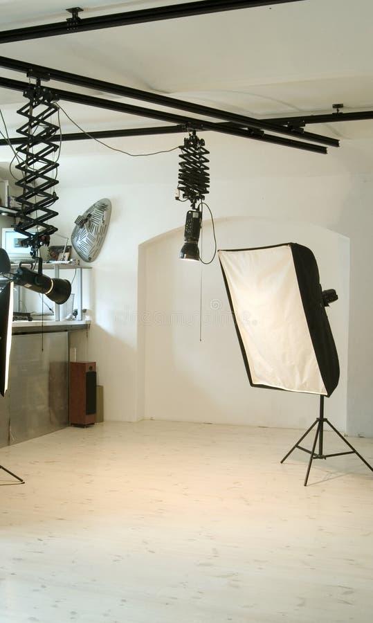 Estúdio fotográfico imagens de stock royalty free