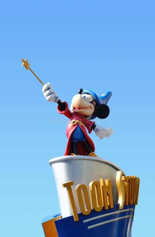Estúdios de Disney Toon fotografia de stock