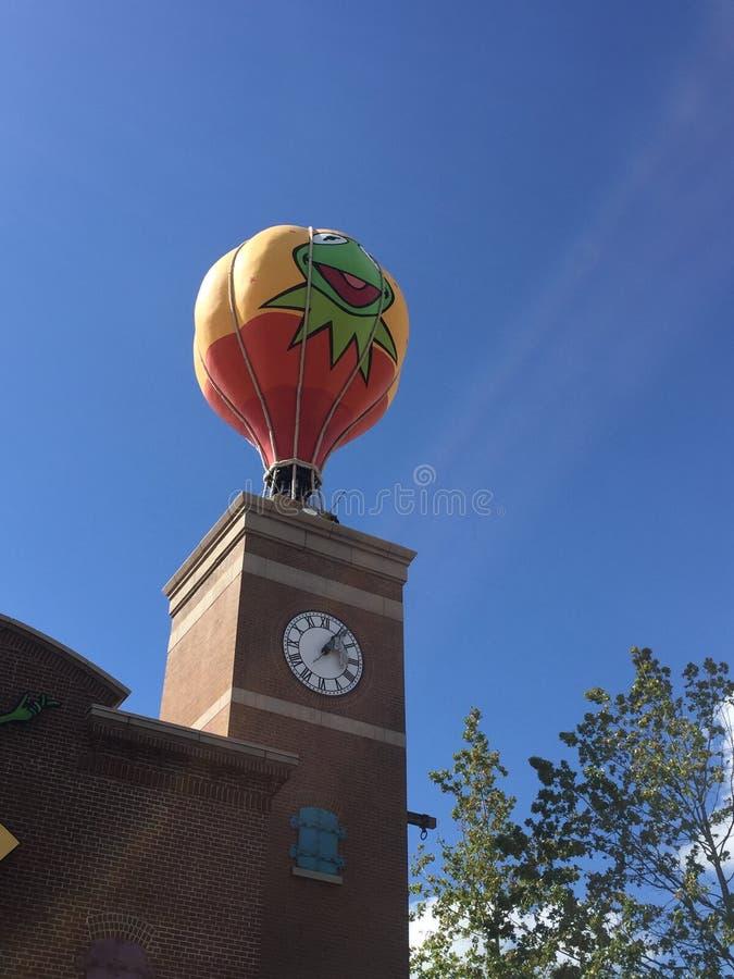 Estúdios de Hollywood do balão dos Muppets foto de stock