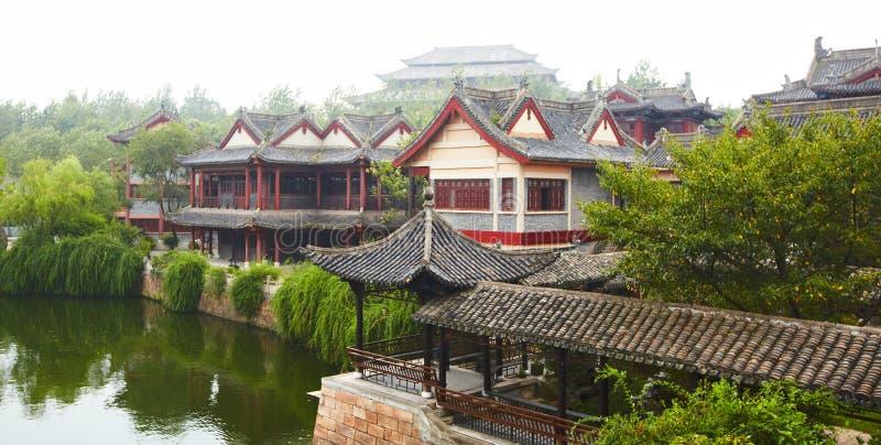 Estúdios do mundo de Hengdian fotos de stock royalty free