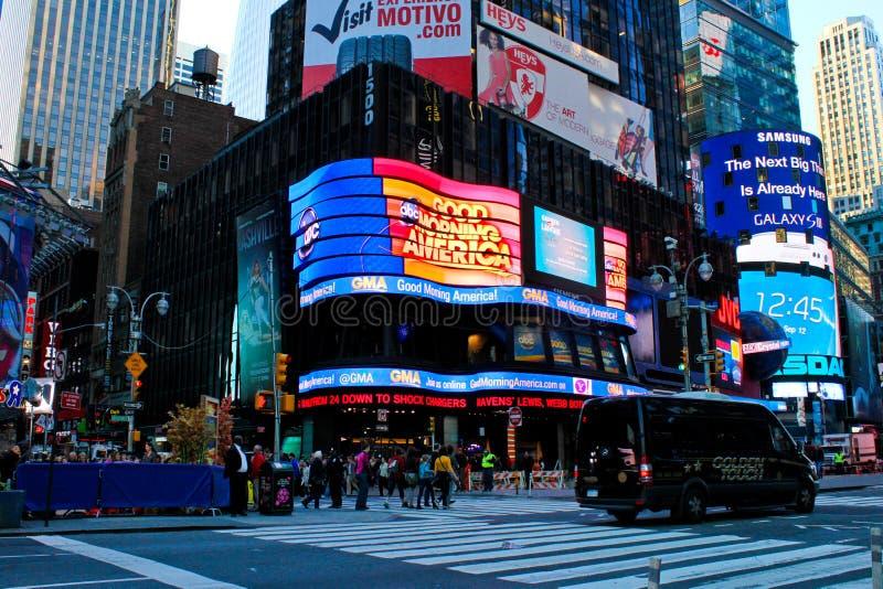 Estúdios NYC do Good Morning America fotografia de stock royalty free