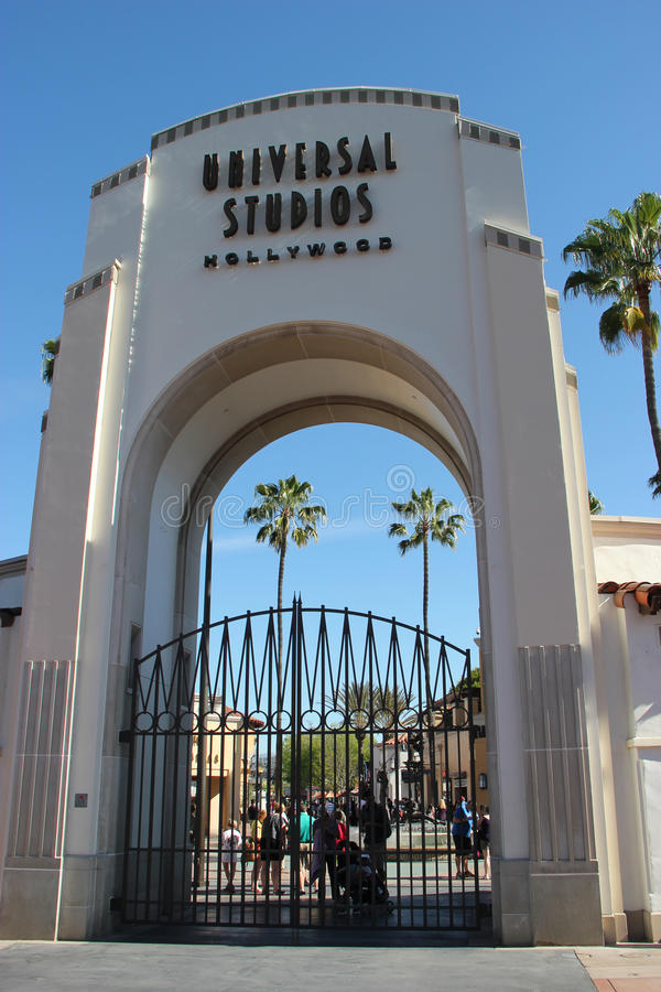 Estúdios universais Hollywood foto de stock royalty free