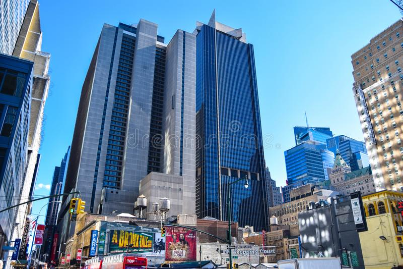 EST CE NEW YORK CITY images libres de droits