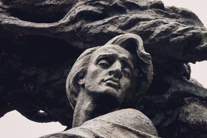 Est?tua de Frederic Chopin imagem de stock royalty free
