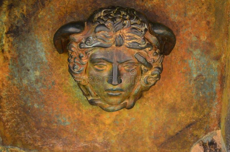 A est?tua na ?rea archeological de Agrigento fotos de stock royalty free