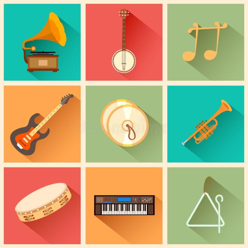 Est un vrai contenu de musique d'âme illustration libre de droits