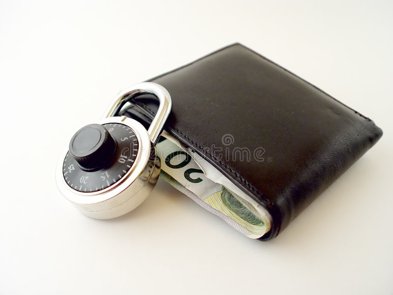 Est votre coffre-fort d'argent image libre de droits