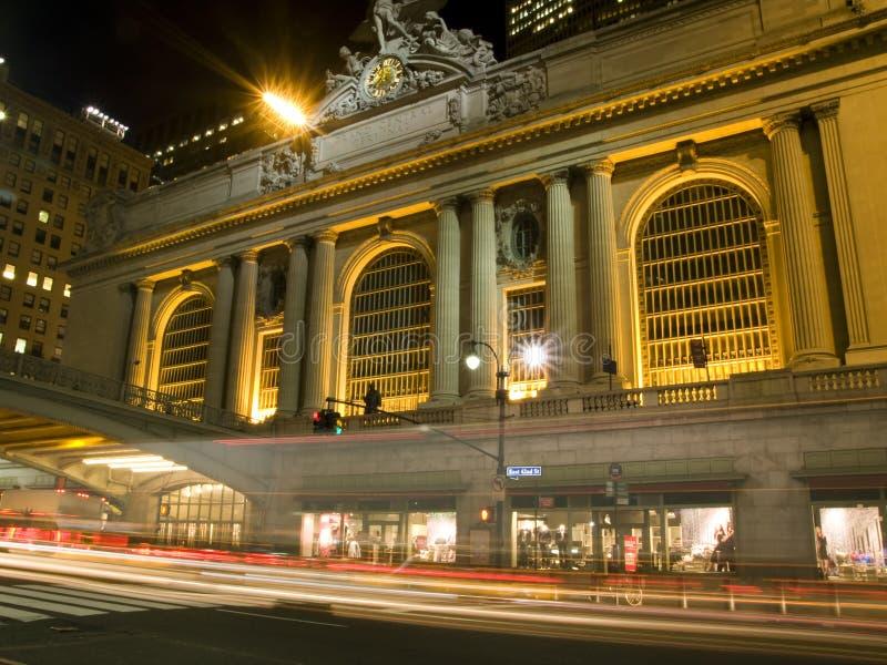 Estação central grande fotografia de stock