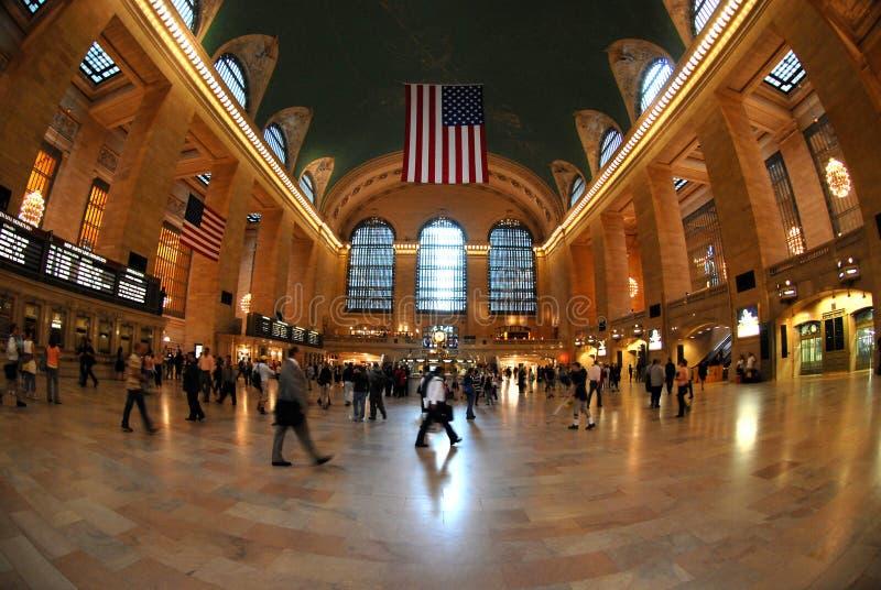 Estação central grande em NYC imagens de stock