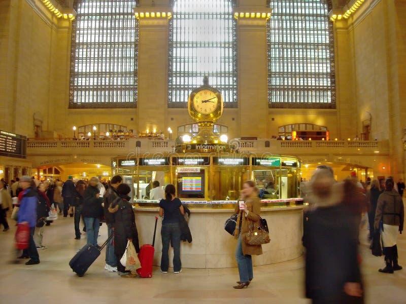 Estação central grande New York fotografia de stock royalty free