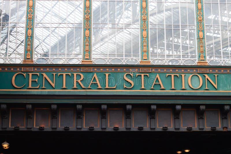 Estação da central de Glasgow imagem de stock royalty free