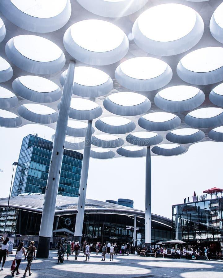 Estação da central de Utrecht fotografia de stock