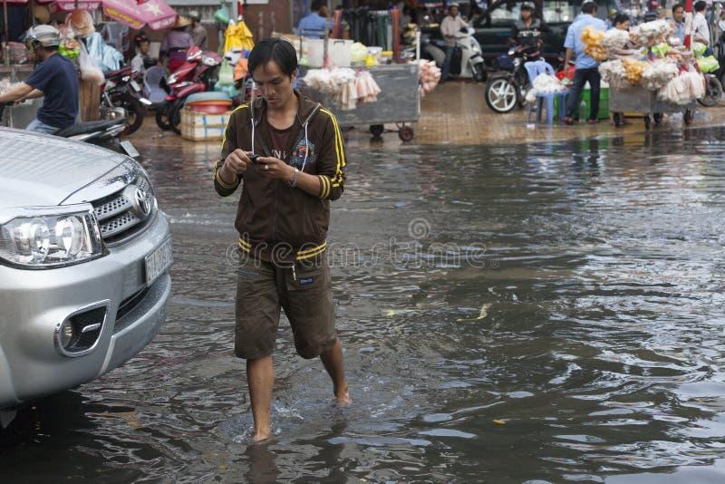 Estação da chuva em 3Sudeste Asiático imagem de stock