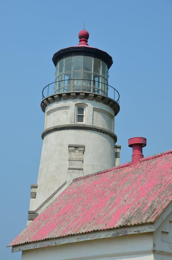 Estação da luz da cabeça de Hecta, costa de Oregon fotos de stock royalty free