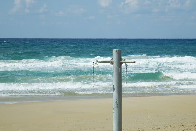 Estação da praia terminada fotos de stock royalty free