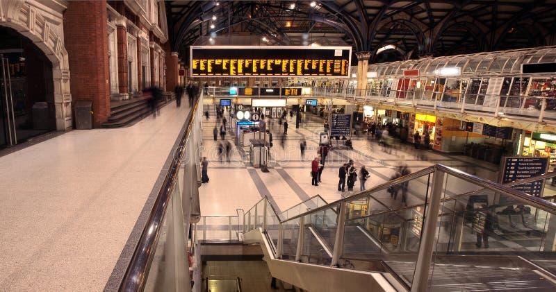 Estação da rua de Liverpool foto de stock