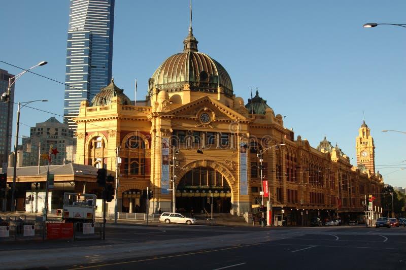 Estação da rua do Flinders (iv) imagens de stock royalty free