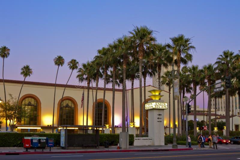 Estação da união de Los Angeles foto de stock