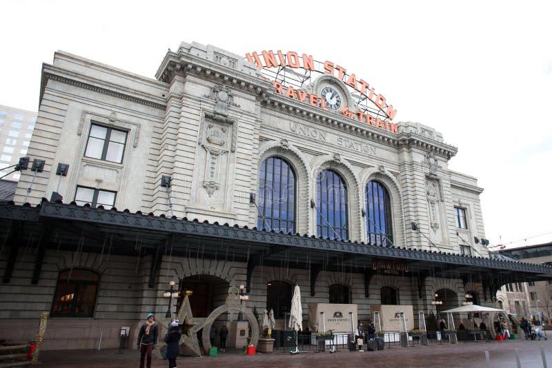 Estação da união em Denver fotografia de stock royalty free