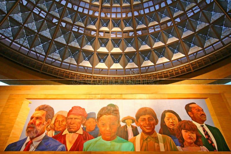 Estação da união, Los Angeles, CA, EUA fotografia de stock