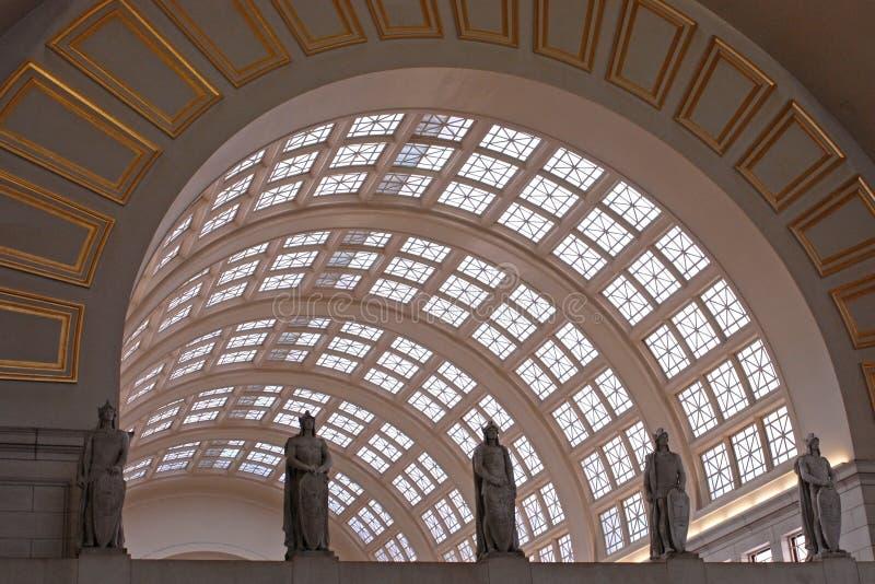 Estação da união, Washington DC fotos de stock royalty free
