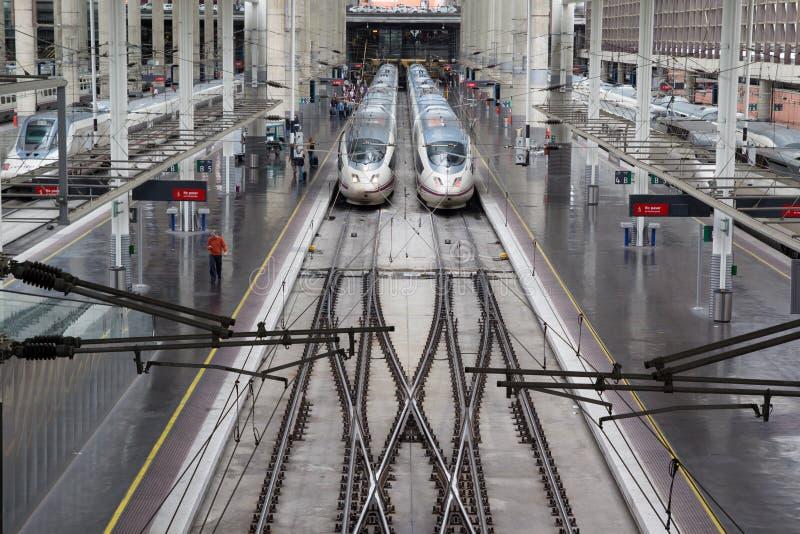Estação de Atocha fotografia de stock royalty free
