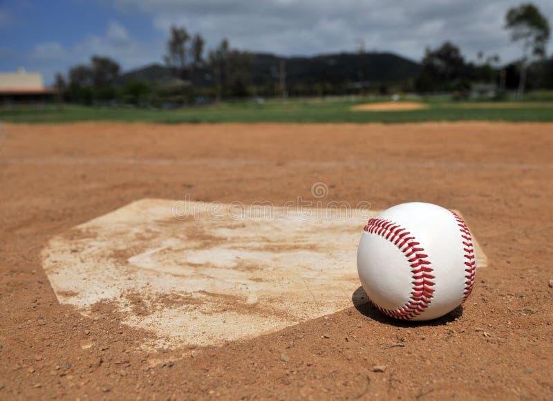 Estação de basebol fotos de stock