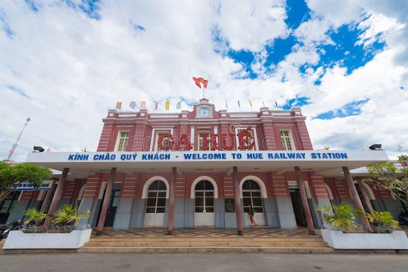 Estação de caminhos-de-ferro da matiz, Vietname foto de stock royalty free