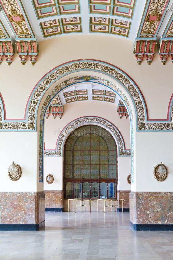 Estação de caminhos-de-ferro de Haydarpasa fotografia de stock
