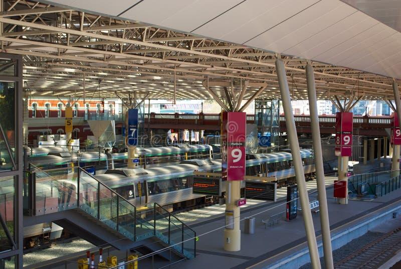 Estação de caminhos-de-ferro de Perth fotografia de stock royalty free