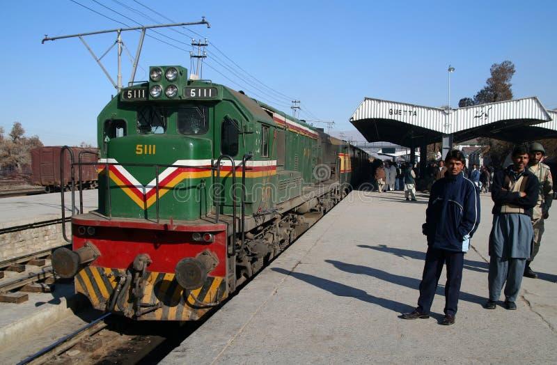 Estação de caminhos-de-ferro de Quetta fotos de stock royalty free