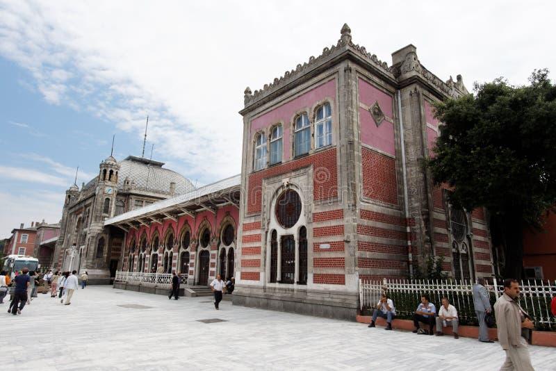Estação de caminhos-de-ferro expresso de oriente Istambul fotos de stock royalty free