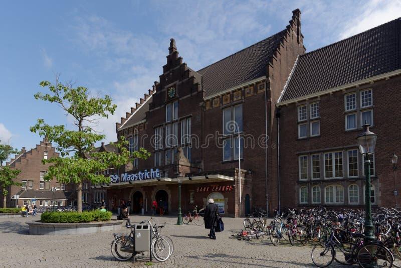Estação de caminhos-de-ferro de Maastricht, Países Baixos fotos de stock royalty free