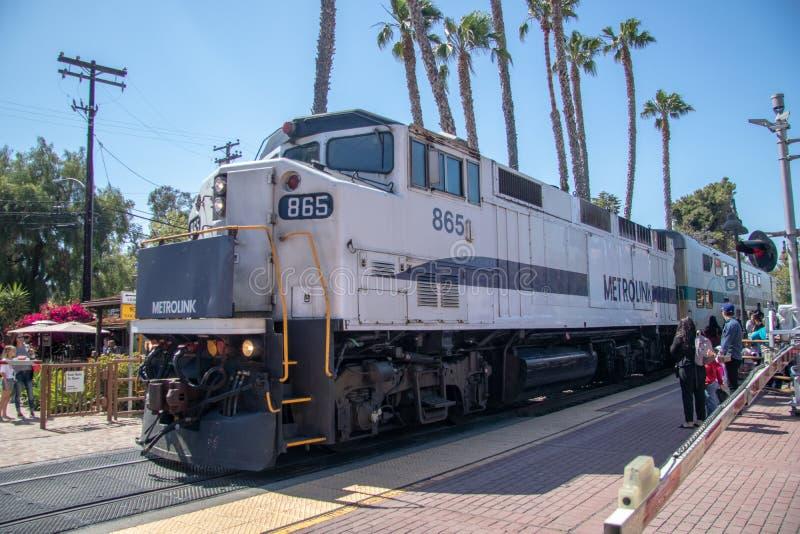 Estação de caminhos de ferro de San Juan Capistrano fotografia de stock royalty free