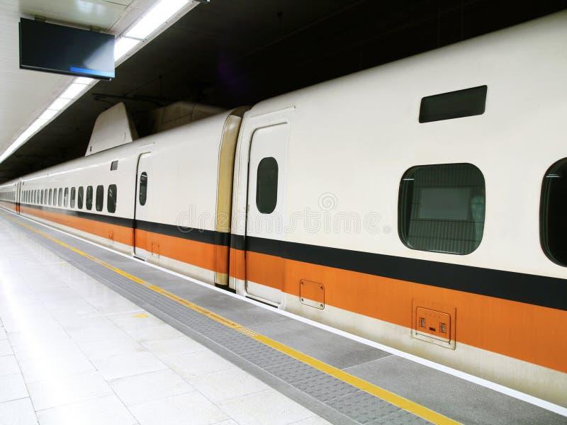 Estação de comboio de alta velocidade fotos de stock