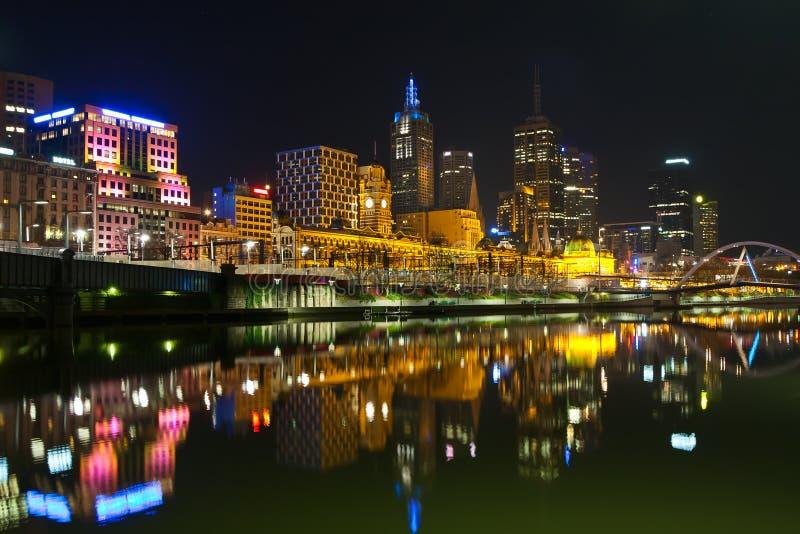 Estação de comboio de Melbourne fotos de stock royalty free